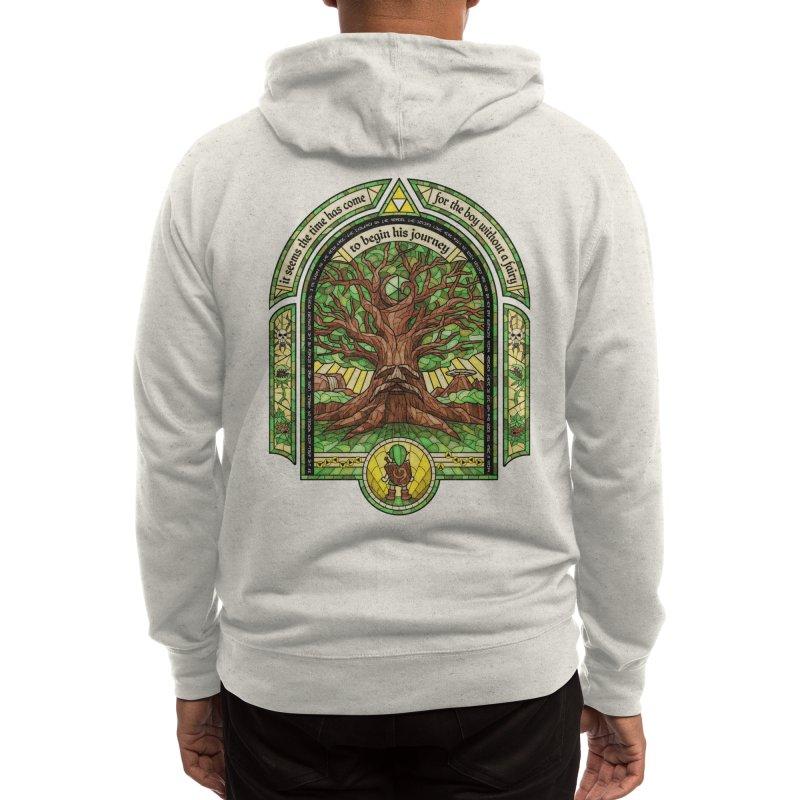 The Great Deku Tree Men's Zip-Up Hoody by CoryFreemanDesign