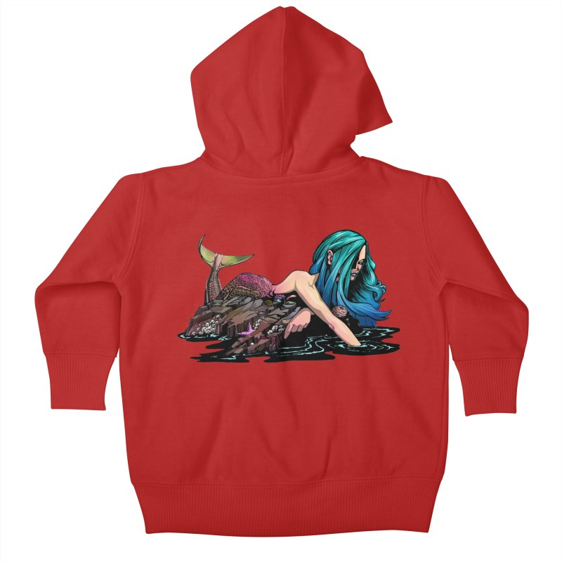 Mermaid on the Rocks   by Cory Kerr's Artist Shop (see more at corykerr.com)