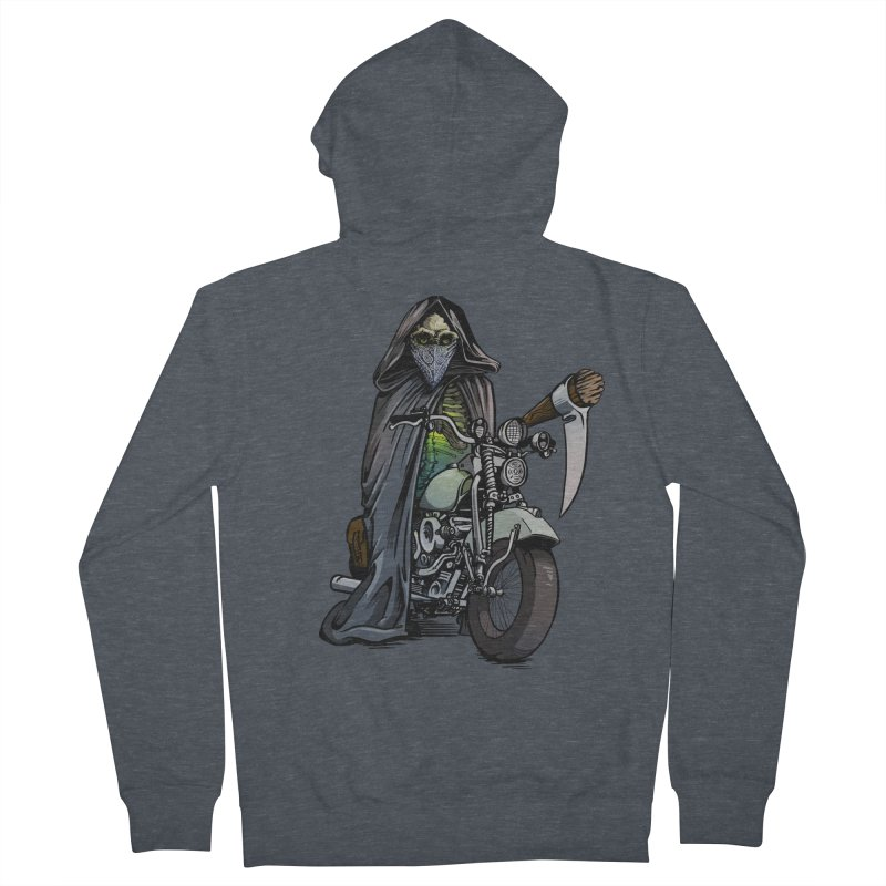 Four Riders: Death Women's Zip-Up Hoody by Cory Kerr's Artist Shop (see more at corykerr.com)