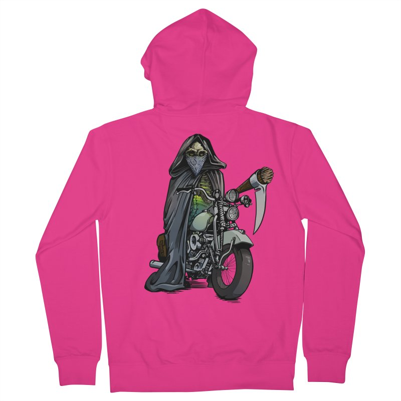 Four Riders: Death Men's Zip-Up Hoody by Cory Kerr's Artist Shop (see more at corykerr.com)