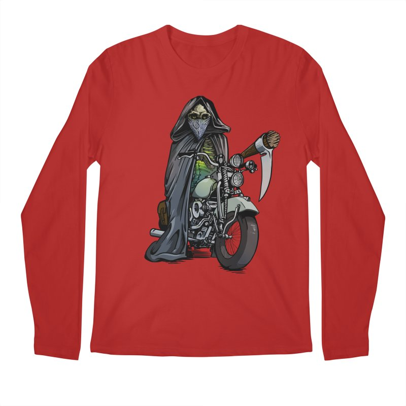 Four Riders: Death Men's Longsleeve T-Shirt by Cory Kerr's Artist Shop (see more at corykerr.com)