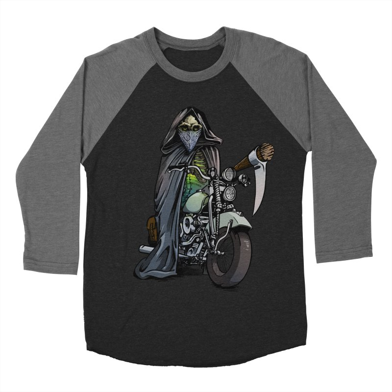 Four Riders: Death Women's Baseball Triblend T-Shirt by Cory Kerr's Artist Shop (see more at corykerr.com)