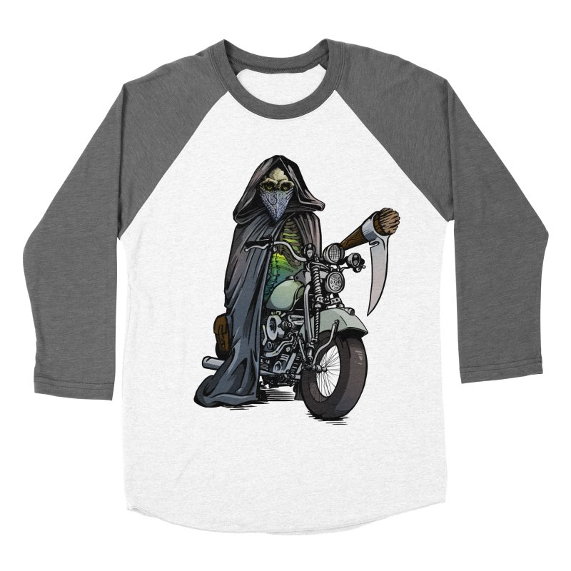 Four Riders: Death Men's Baseball Triblend T-Shirt by Cory Kerr's Artist Shop (see more at corykerr.com)