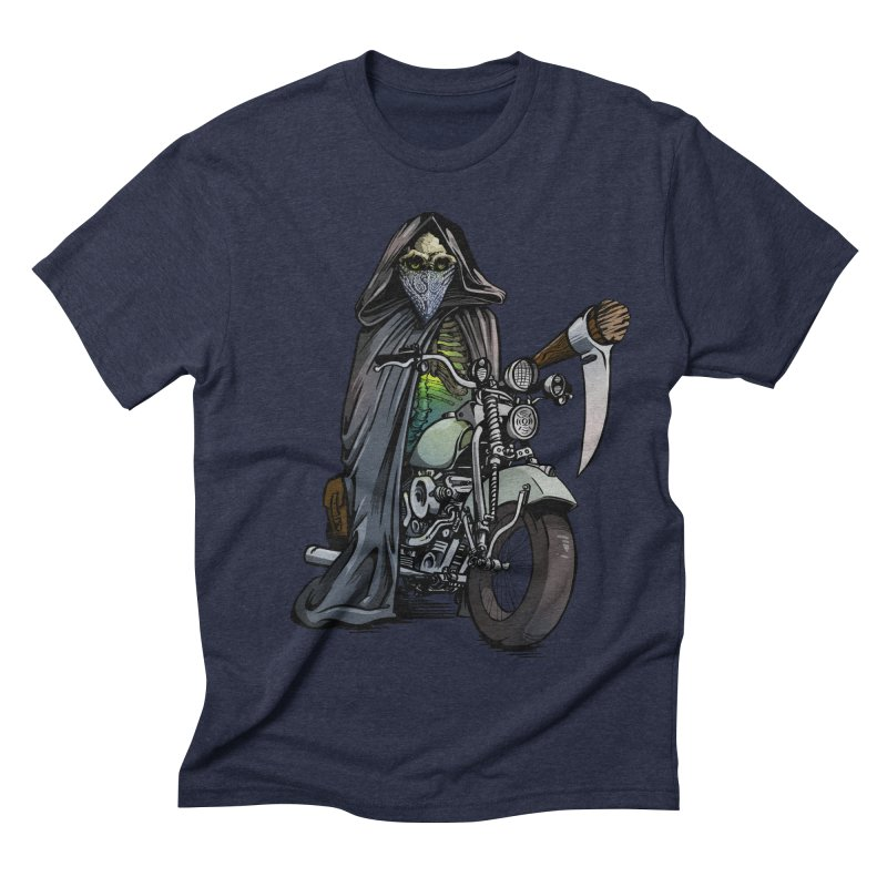 Four Riders: Death Men's Triblend T-shirt by Cory Kerr's Artist Shop (see more at corykerr.com)