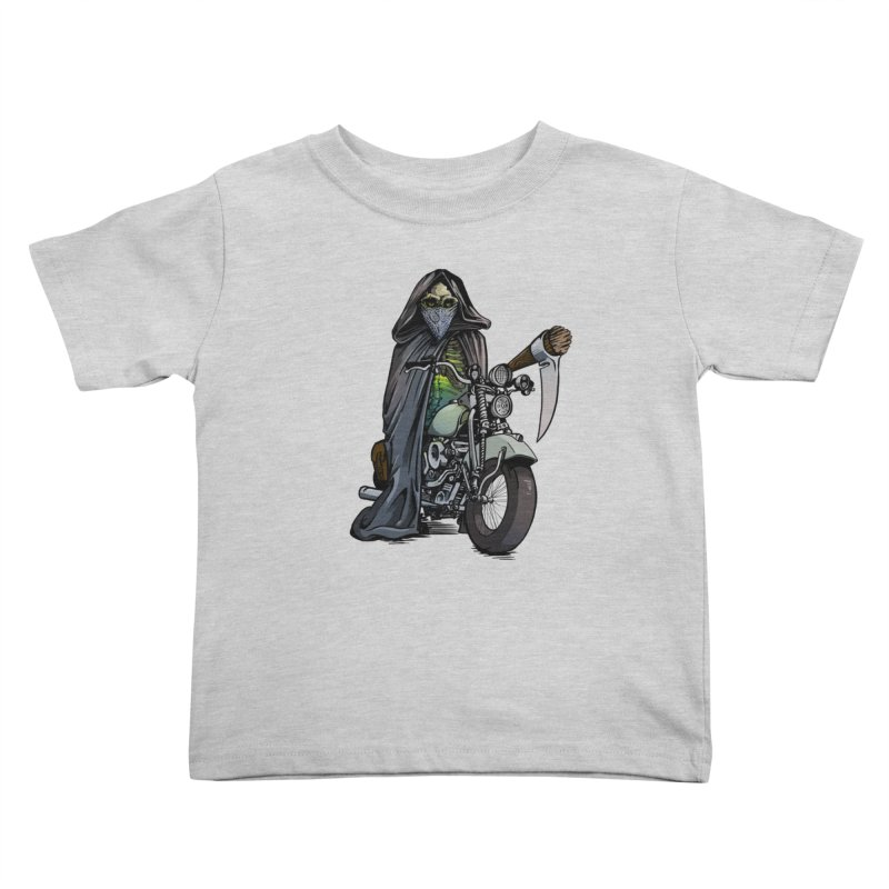 Four Riders: Death Kids Toddler T-Shirt by Cory Kerr's Artist Shop (see more at corykerr.com)