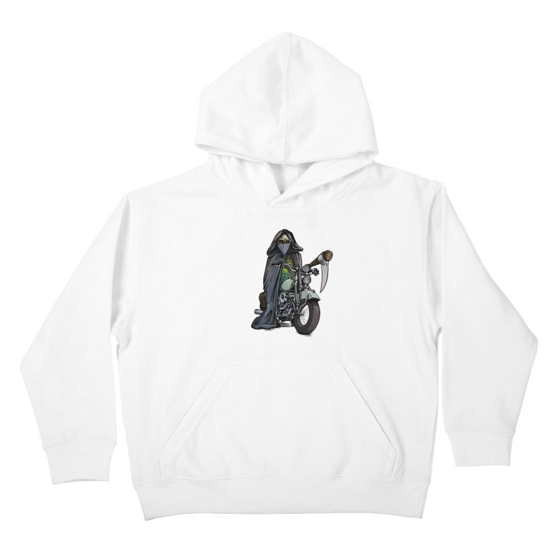 Four Riders: Death Kids Pullover Hoody by Cory Kerr's Artist Shop (see more at corykerr.com)