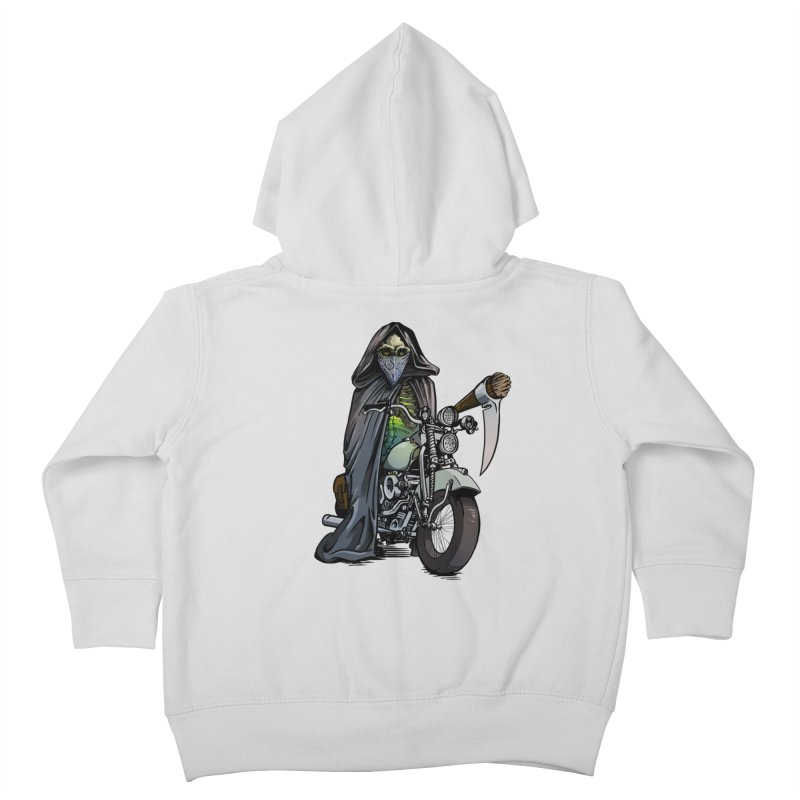 Four Riders: Death Kids Toddler Zip-Up Hoody by Cory Kerr's Artist Shop (see more at corykerr.com)