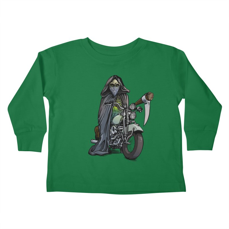 Four Riders: Death Kids Toddler Longsleeve T-Shirt by Cory Kerr's Artist Shop (see more at corykerr.com)