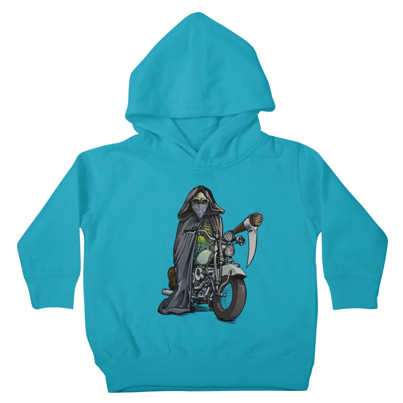 Four Riders: Death Kids Toddler Pullover Hoody by Cory Kerr's Artist Shop (see more at corykerr.com)