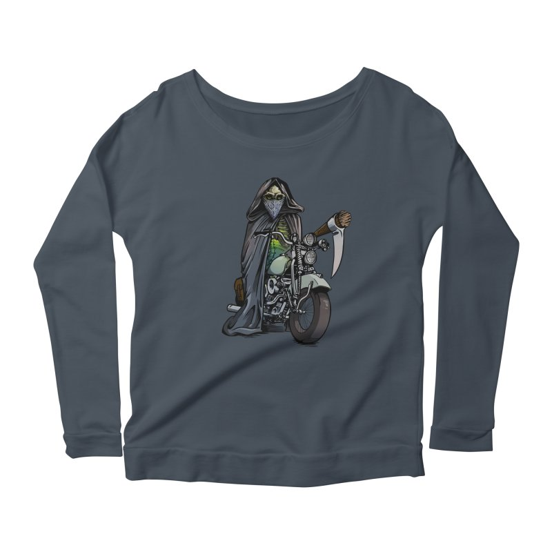 Four Riders: Death Women's Longsleeve Scoopneck  by Cory Kerr's Artist Shop (see more at corykerr.com)