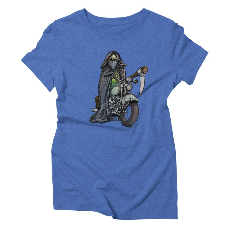 Four Riders: Death Women's Triblend T-shirt by Cory Kerr's Artist Shop (see more at corykerr.com)