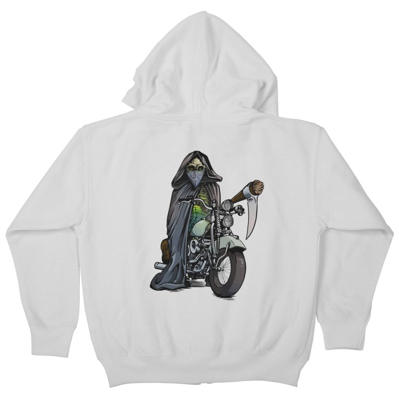 Four Riders: Death Kids Zip-Up Hoody by Cory Kerr's Artist Shop (see more at corykerr.com)
