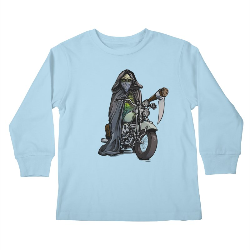 Four Riders: Death Kids Longsleeve T-Shirt by Cory Kerr's Artist Shop (see more at corykerr.com)