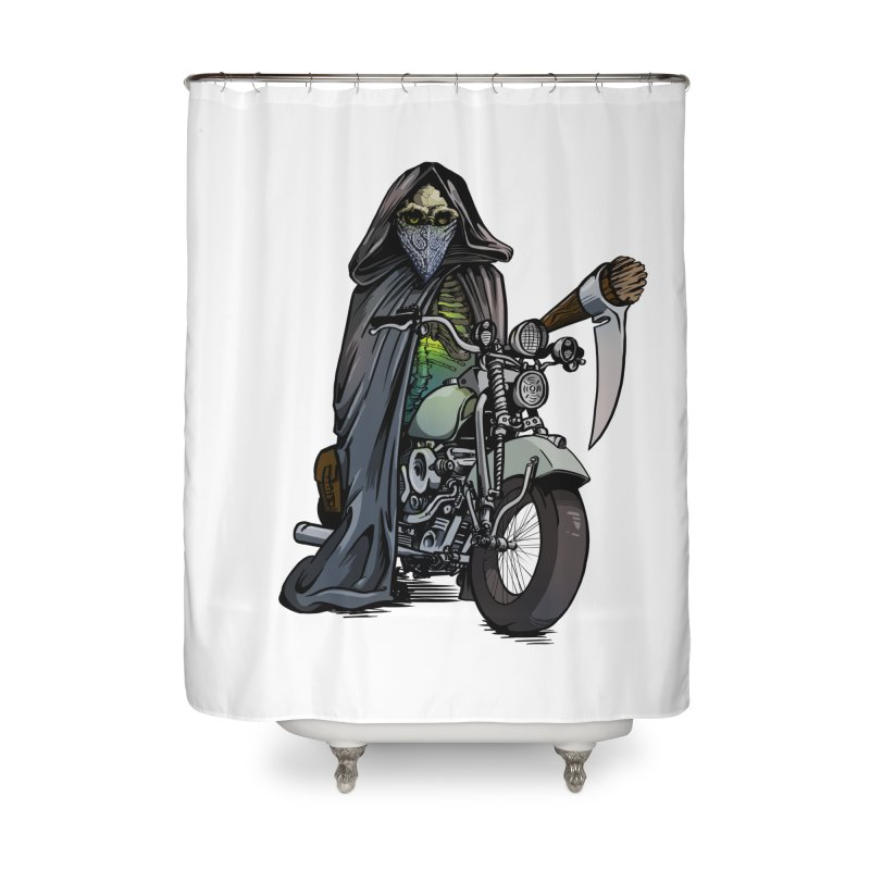Four Riders: Death Home Shower Curtain by Cory Kerr's Artist Shop (see more at corykerr.com)