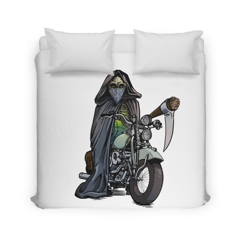 Four Riders: Death Home Duvet by Cory Kerr's Artist Shop (see more at corykerr.com)