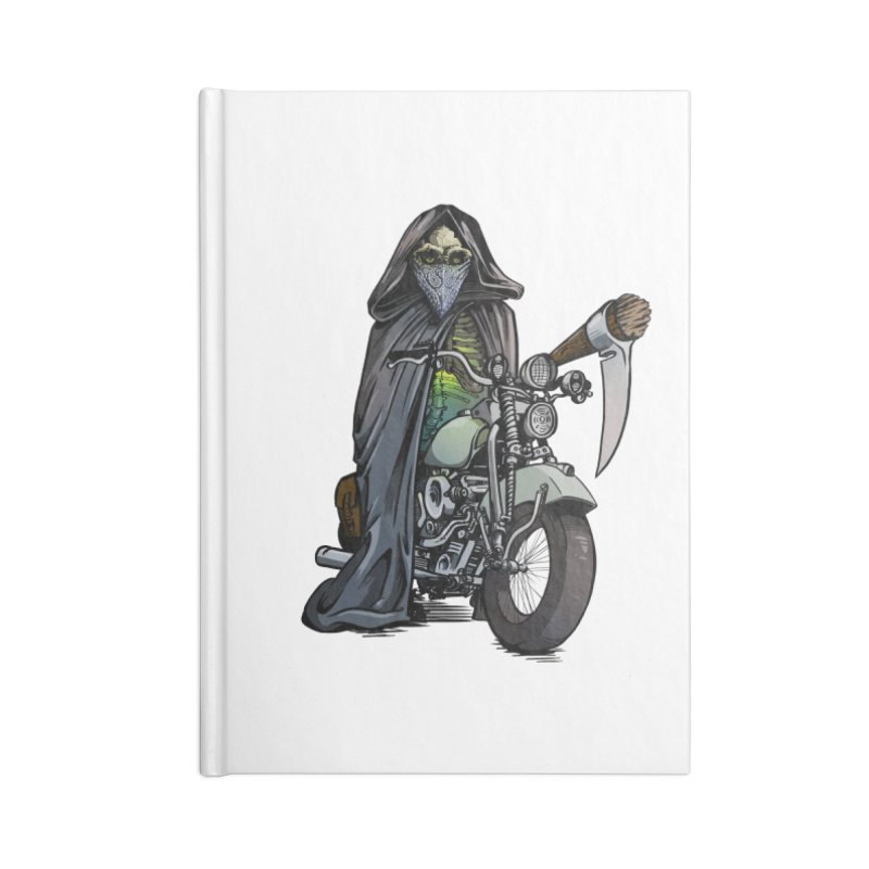 Four Riders: Death Accessories Notebook by Cory Kerr's Artist Shop (see more at corykerr.com)