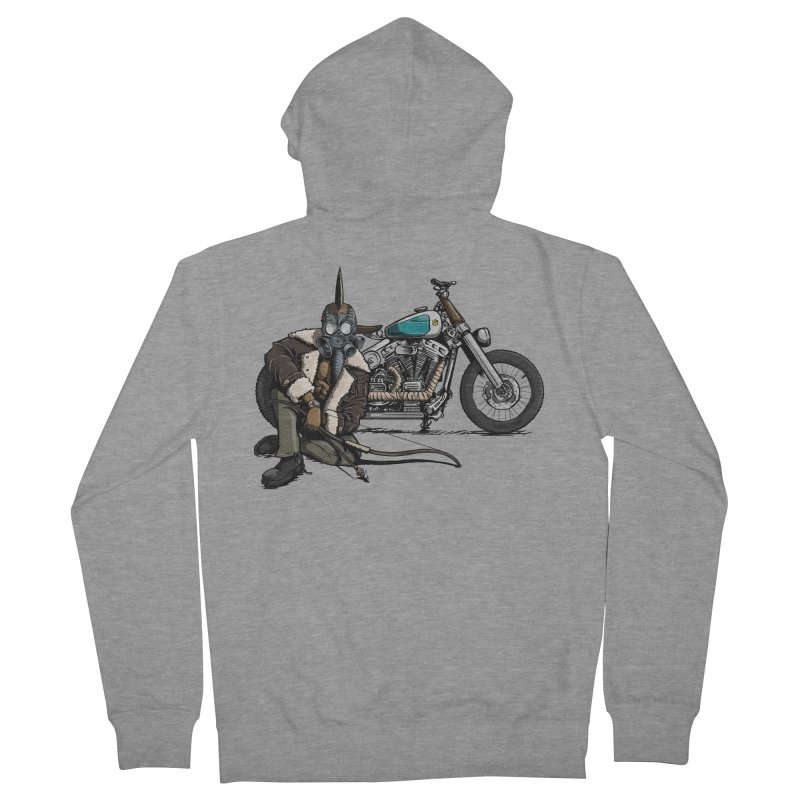 Four Riders: Pestilence Women's Zip-Up Hoody by Cory Kerr's Artist Shop (see more at corykerr.com)