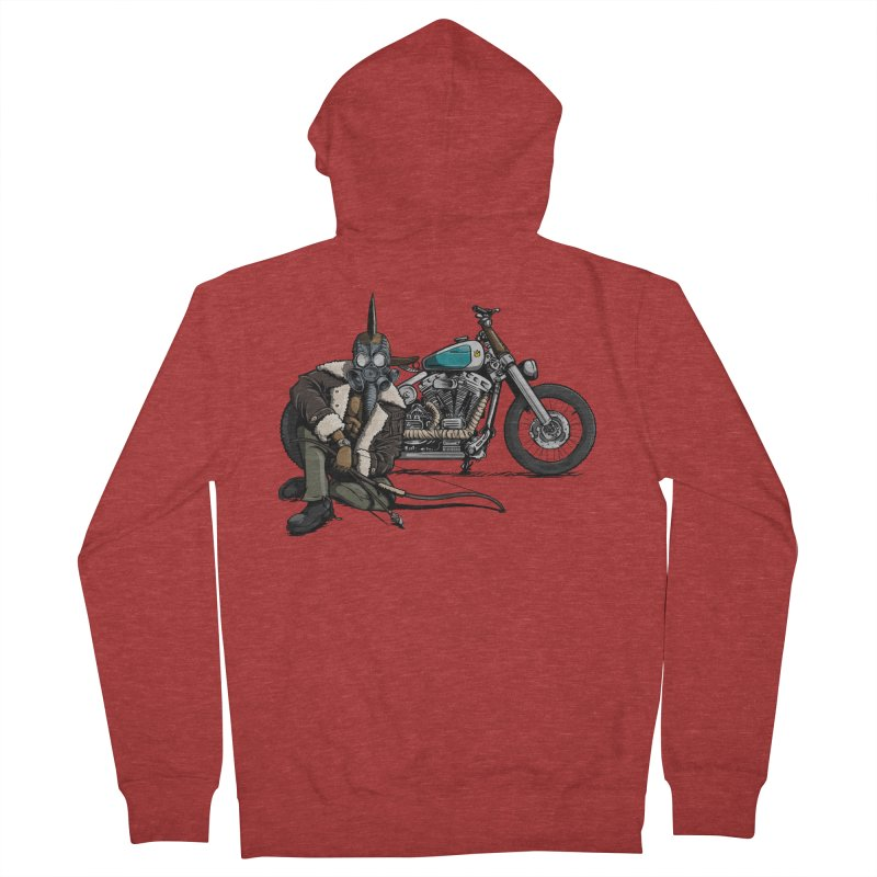 Four Riders: Pestilence Men's Zip-Up Hoody by Cory Kerr's Artist Shop (see more at corykerr.com)