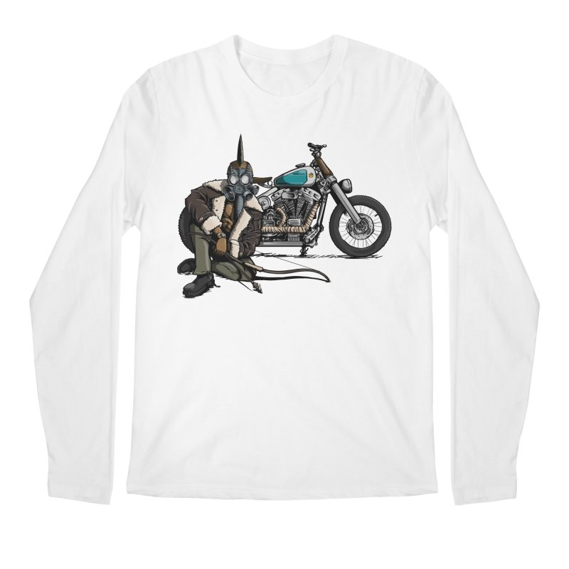 Four Riders: Pestilence Men's Longsleeve T-Shirt by Cory Kerr's Artist Shop (see more at corykerr.com)