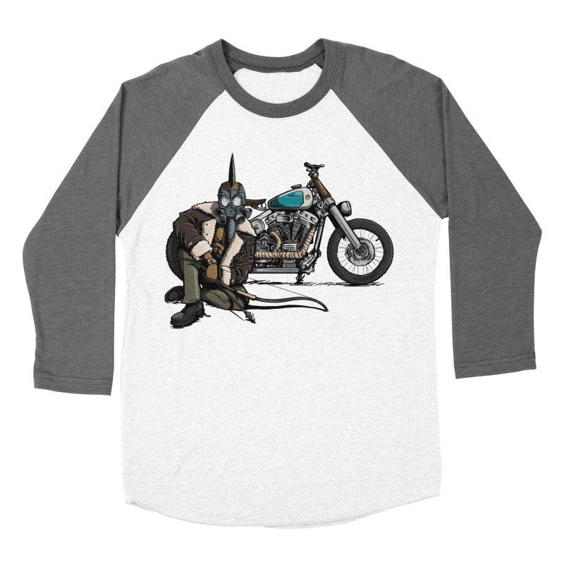 Four Riders: Pestilence Women's Baseball Triblend T-Shirt by Cory Kerr's Artist Shop (see more at corykerr.com)