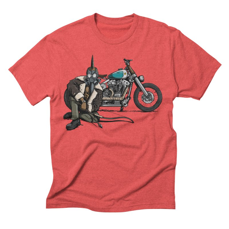 Four Riders: Pestilence Men's Triblend T-shirt by Cory Kerr's Artist Shop (see more at corykerr.com)