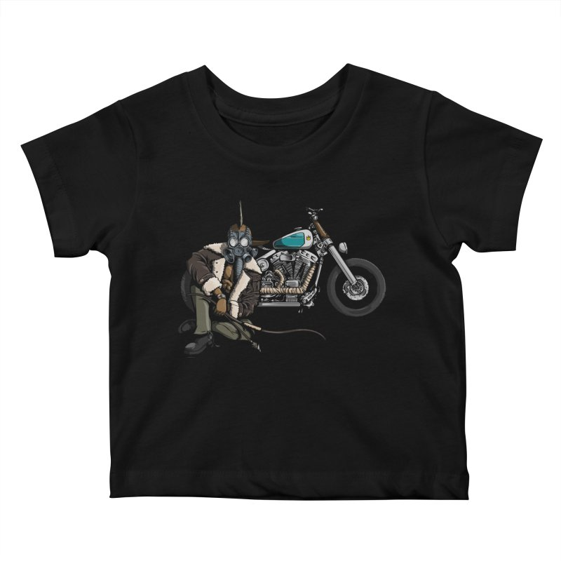 Four Riders: Pestilence Kids Baby T-Shirt by Cory Kerr's Artist Shop (see more at corykerr.com)