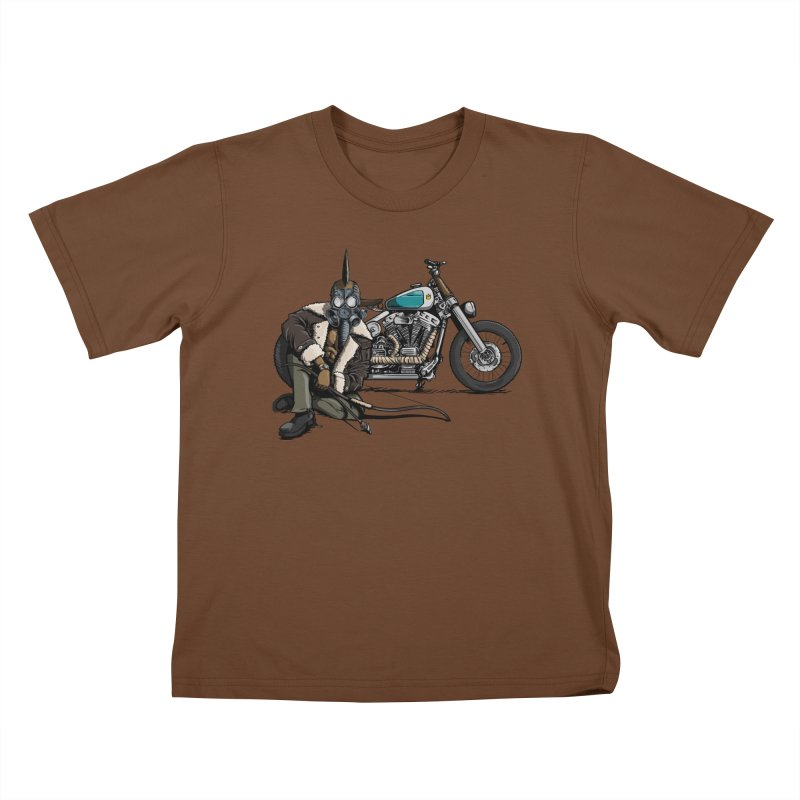 Four Riders: Pestilence Kids T-Shirt by Cory Kerr's Artist Shop (see more at corykerr.com)