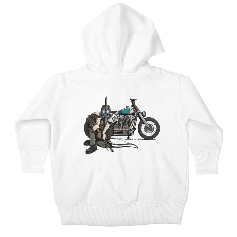 Four Riders: Pestilence Kids Baby Zip-Up Hoody by Cory Kerr's Artist Shop (see more at corykerr.com)