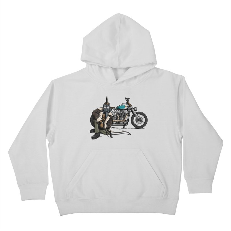 Four Riders: Pestilence Kids Pullover Hoody by Cory Kerr's Artist Shop (see more at corykerr.com)