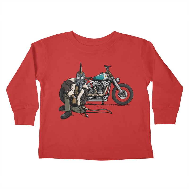 Four Riders: Pestilence Kids Toddler Longsleeve T-Shirt by Cory Kerr's Artist Shop (see more at corykerr.com)
