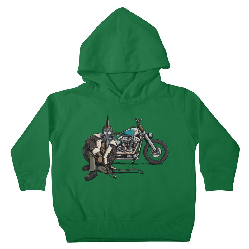 Four Riders: Pestilence Kids Toddler Pullover Hoody by Cory Kerr's Artist Shop (see more at corykerr.com)