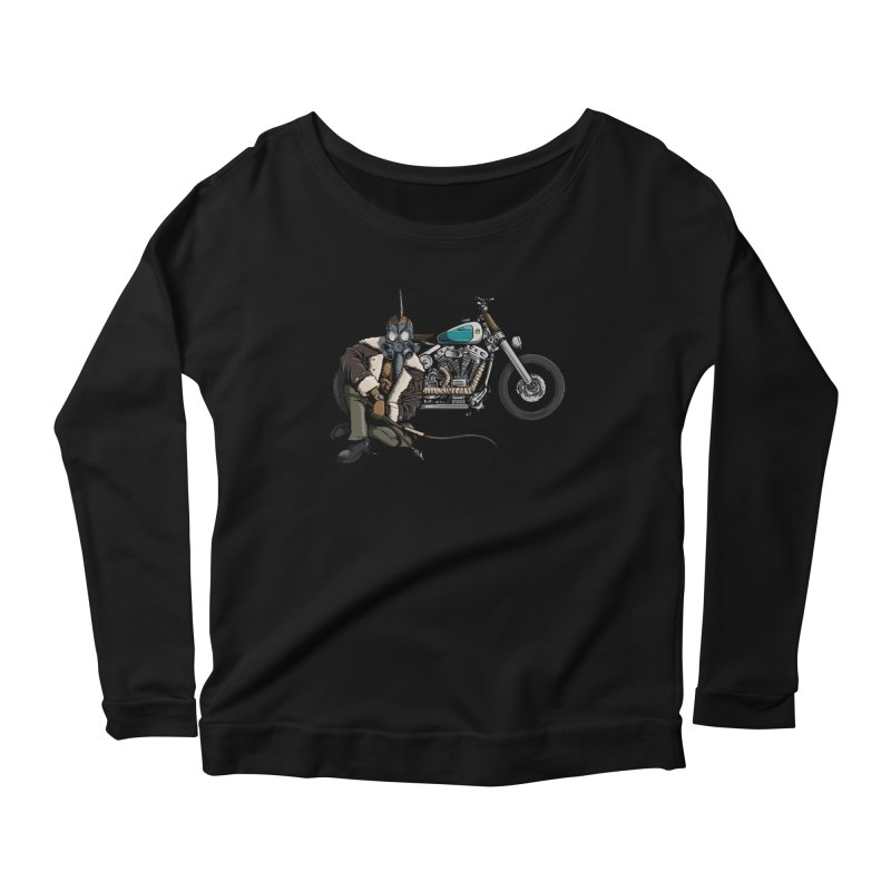 Four Riders: Pestilence Women's Longsleeve Scoopneck  by Cory Kerr's Artist Shop (see more at corykerr.com)