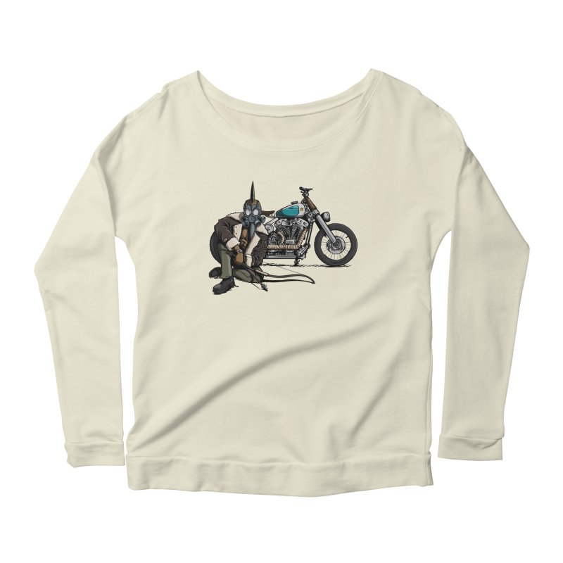 Four Riders: Pestilence Women's Longsleeve Scoopneck  by Cory Kerr's Artist Shop (see more at corykerr.com)