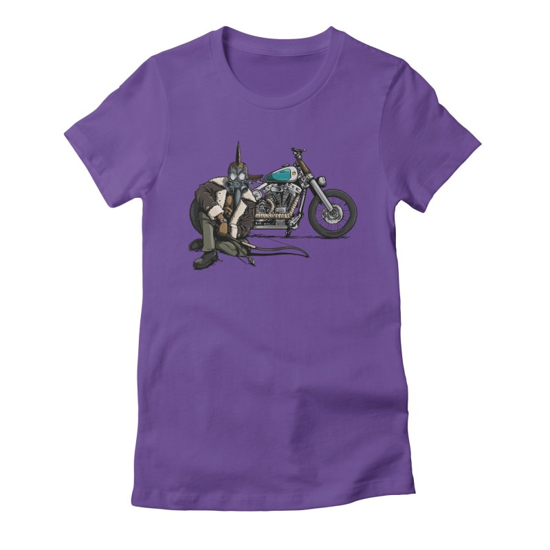 Four Riders: Pestilence Women's Fitted T-Shirt by Cory Kerr's Artist Shop (see more at corykerr.com)