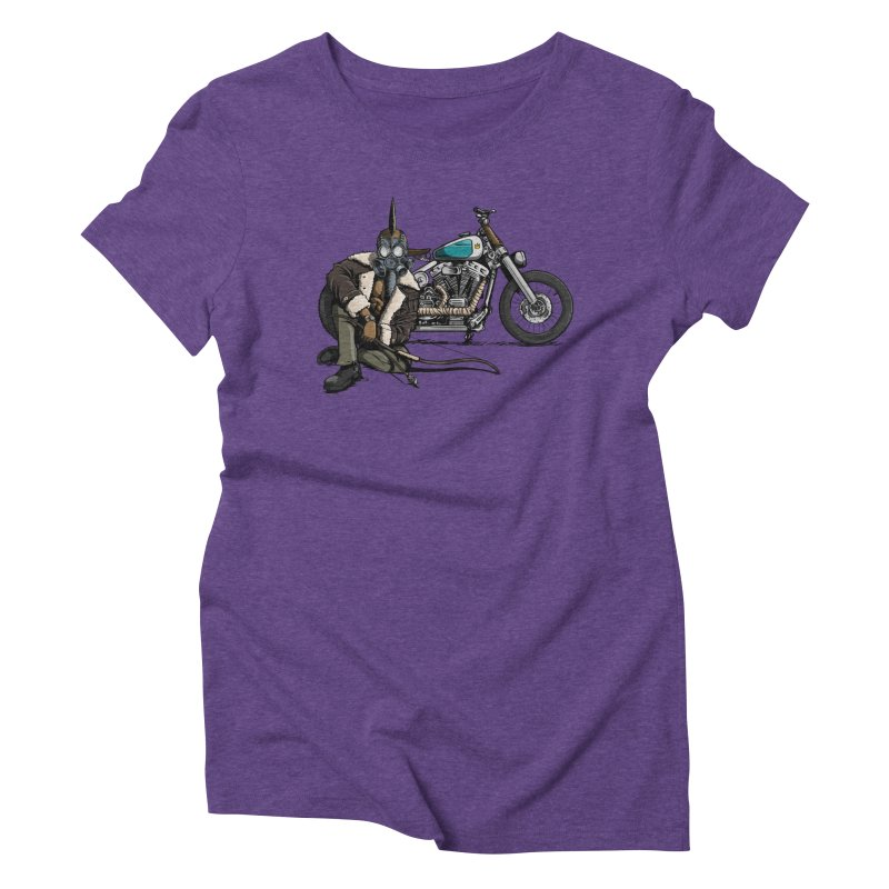 Four Riders: Pestilence Women's Triblend T-Shirt by Cory Kerr's Artist Shop (see more at corykerr.com)