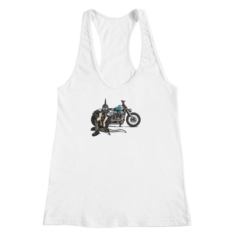 Four Riders: Pestilence Women's Racerback Tank by Cory Kerr's Artist Shop (see more at corykerr.com)