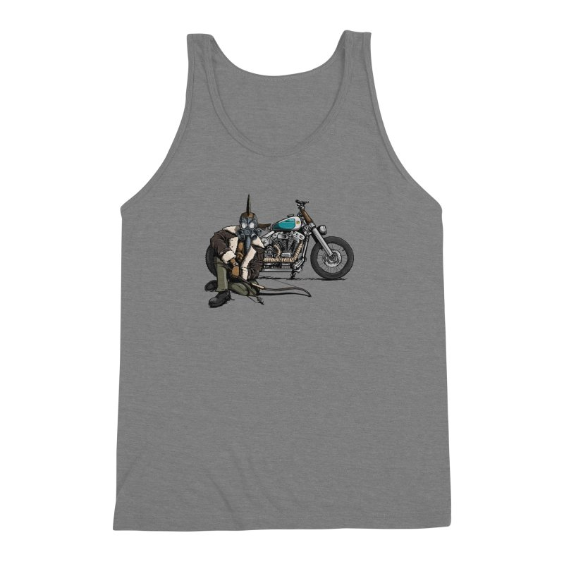 Four Riders: Pestilence Men's Triblend Tank by Cory Kerr's Artist Shop (see more at corykerr.com)