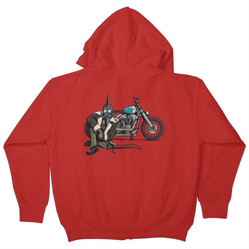 Four Riders: Pestilence Kids Zip-Up Hoody by Cory Kerr's Artist Shop (see more at corykerr.com)