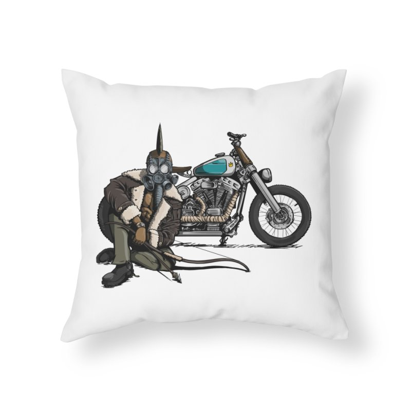 Four Riders: Pestilence Home Throw Pillow by Cory Kerr's Artist Shop (see more at corykerr.com)
