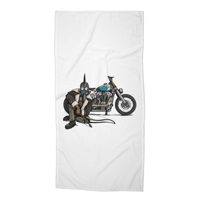 Four Riders: Pestilence Accessories Beach Towel by Cory Kerr's Artist Shop (see more at corykerr.com)