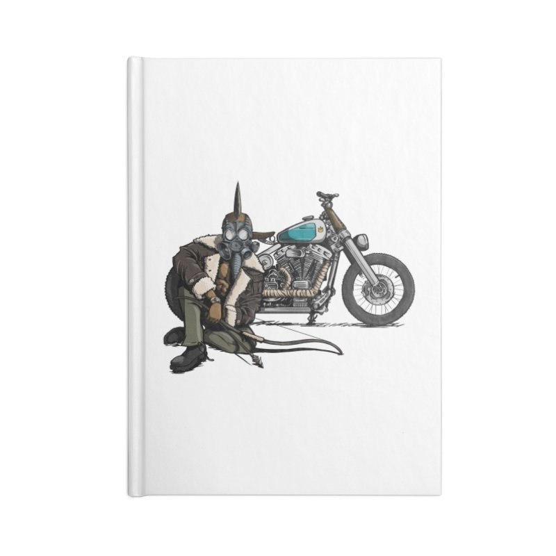 Four Riders: Pestilence Accessories Notebook by Cory Kerr's Artist Shop (see more at corykerr.com)