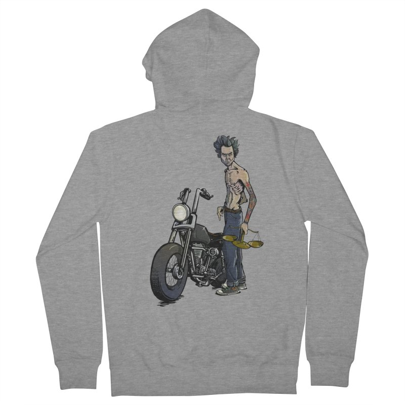 Four Riders: Famine Men's Zip-Up Hoody by Cory Kerr's Artist Shop (see more at corykerr.com)