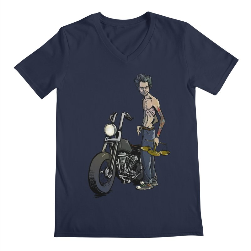 Four Riders: Famine Men's V-Neck by Cory Kerr's Artist Shop (see more at corykerr.com)