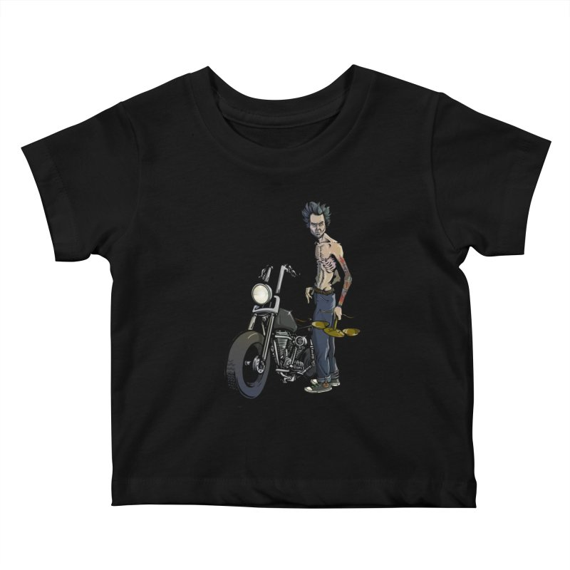 Four Riders: Famine Kids Baby T-Shirt by Cory Kerr's Artist Shop (see more at corykerr.com)