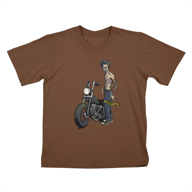 Four Riders: Famine Kids T-shirt by Cory Kerr's Artist Shop (see more at corykerr.com)