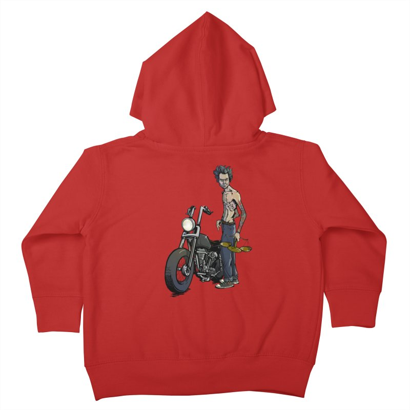 Four Riders: Famine Kids Toddler Zip-Up Hoody by Cory Kerr's Artist Shop (see more at corykerr.com)
