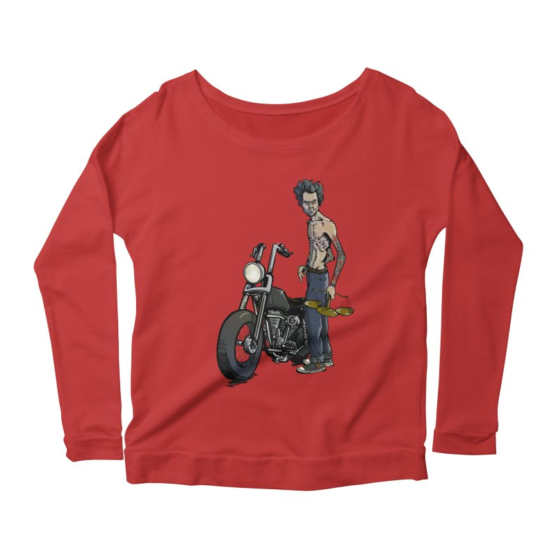 Four Riders: Famine Women's Longsleeve Scoopneck  by Cory Kerr's Artist Shop (see more at corykerr.com)