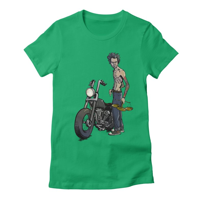 Four Riders: Famine Women's Fitted T-Shirt by Cory Kerr's Artist Shop (see more at corykerr.com)