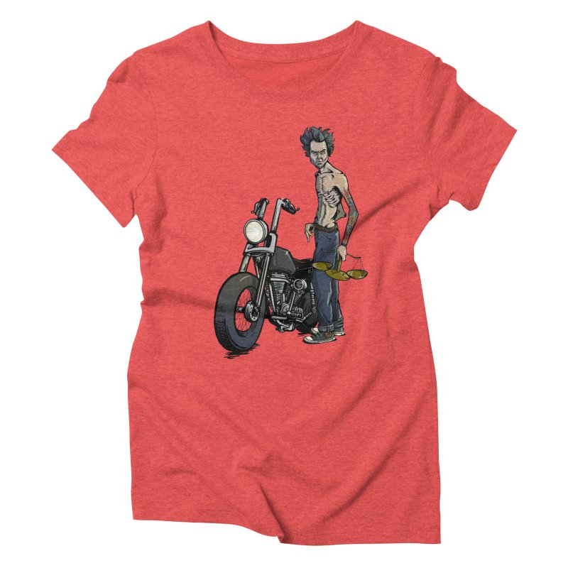 Four Riders: Famine Women's Triblend T-shirt by Cory Kerr's Artist Shop (see more at corykerr.com)