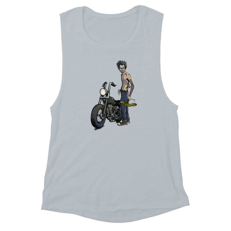 Four Riders: Famine Women's Muscle Tank by Cory Kerr's Artist Shop (see more at corykerr.com)